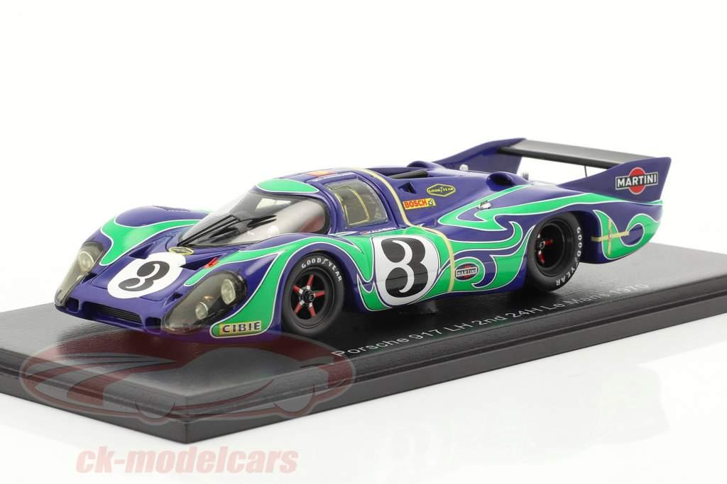 Porsche 917 LH #3 2. plads 24h LeMans 1970 Kauhsen, Larrousse 1:43 Spark