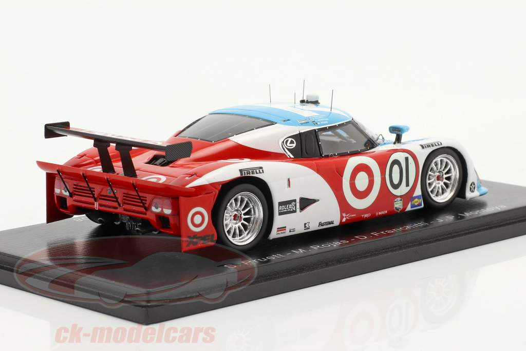 Riley Mk XI #01 vincitore 24h Daytona 2008 Chip Ganassi Team 1:43 Spark