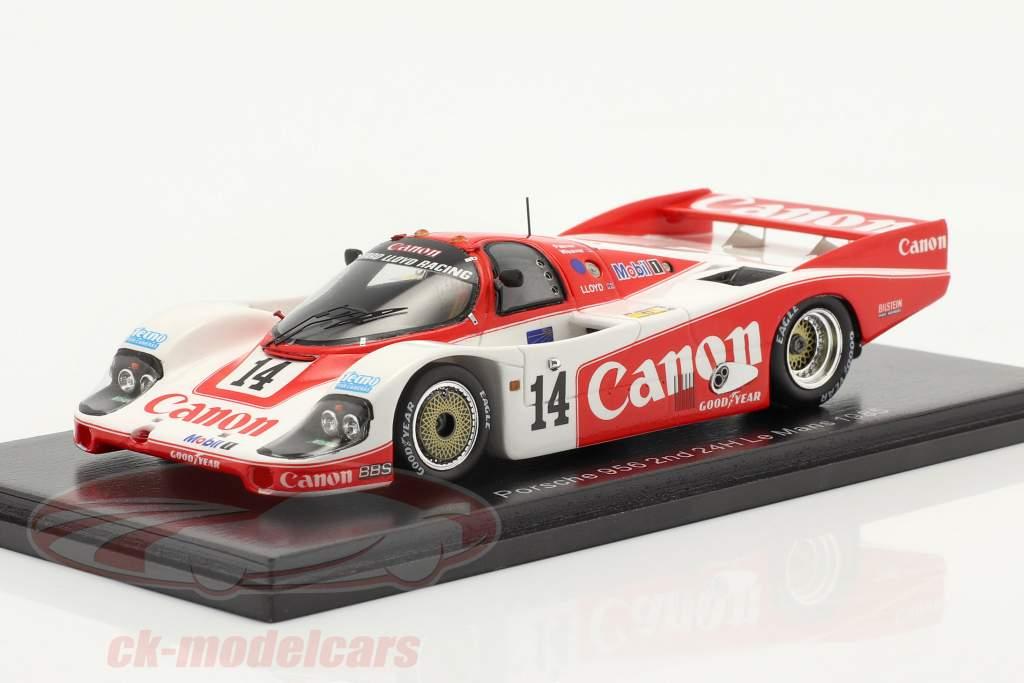 Porsche 956 #14 2e 24h LeMans 1985 Palmer, Weaver, Lloyd 1:43 Vonk