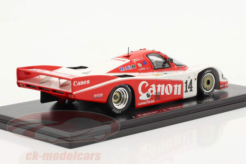 Porsche 956 #14 2° 24h LeMans 1985 Palmer, Weaver, Lloyd 1:43 Scintilla
