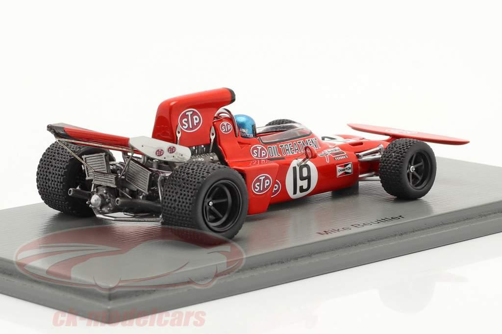 Mike Beuttler March 711 #19 Canadian GP formula 1 1971 1:43 Spark