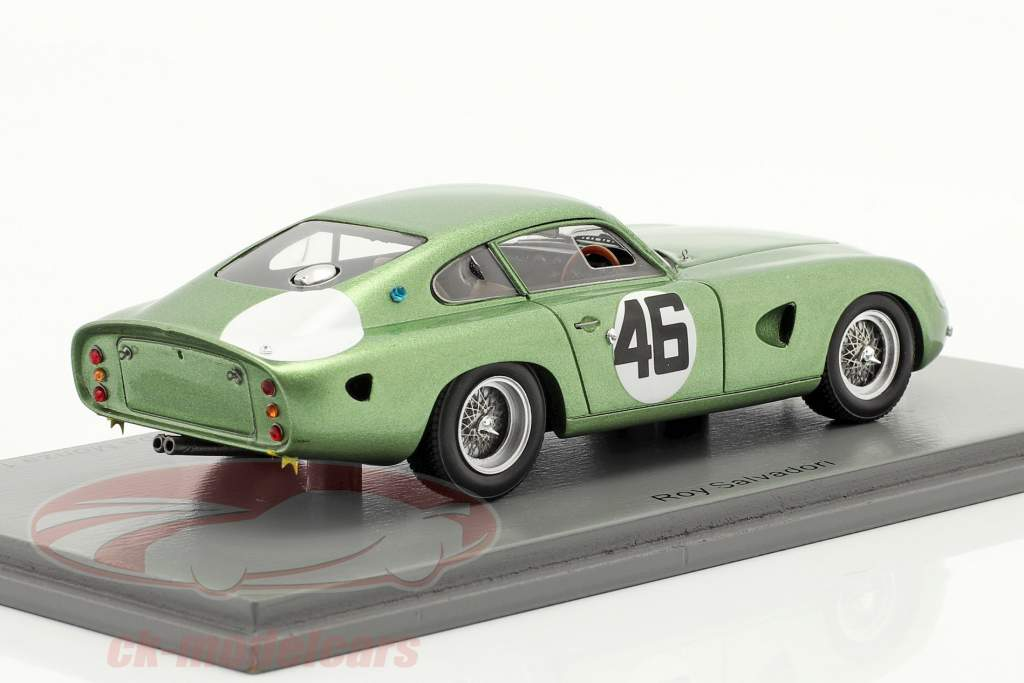 Aston Martin DP214 #46 vincitore Coppa Inter-Europa Monza 1963 Salvadori 1:43 Spark