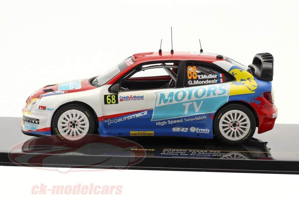 Citroen Xsara º 68 Rallye de France 2010 1:43 Ixo
