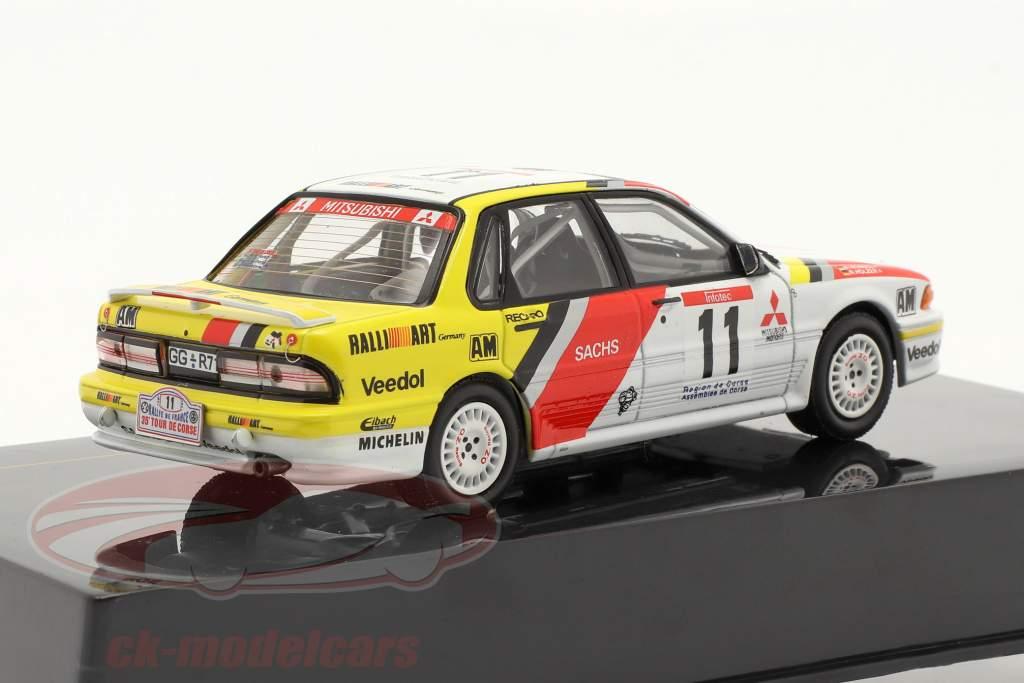 Mitsubishi Galamment VR-4 #11 Tour de Corse 1991 Holzer / Spirale 1:43 Ixo