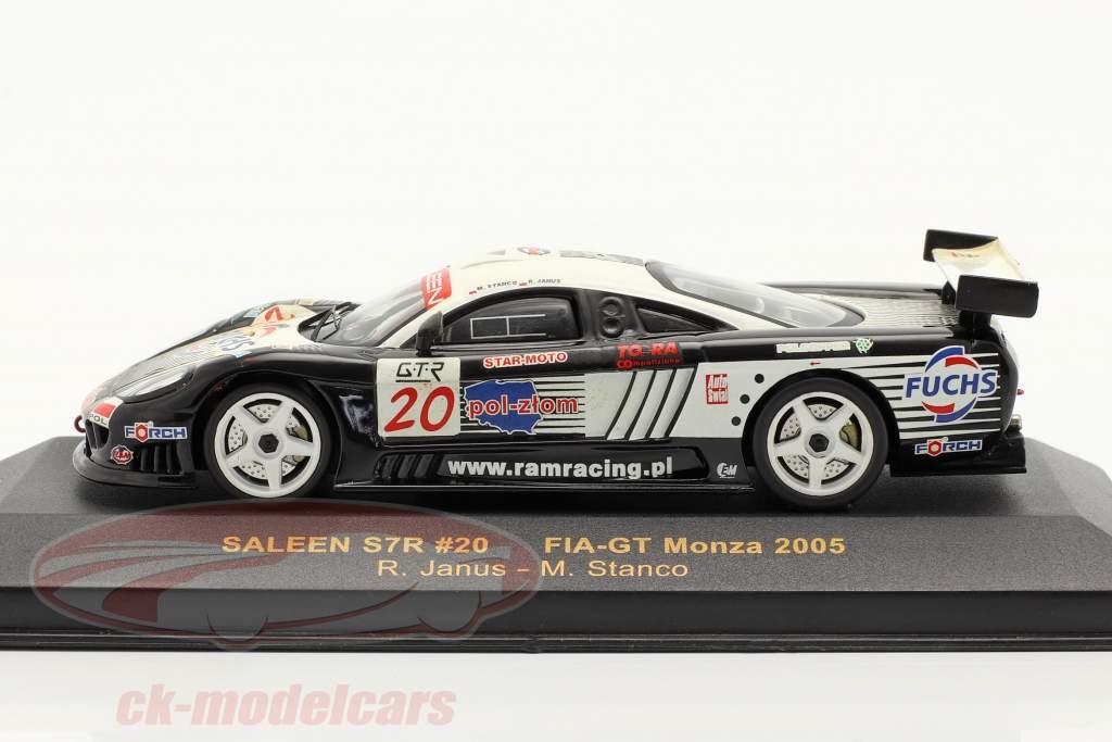 #20 Saleen S7R FIA GT Monza 2005 1:43 Ixo
