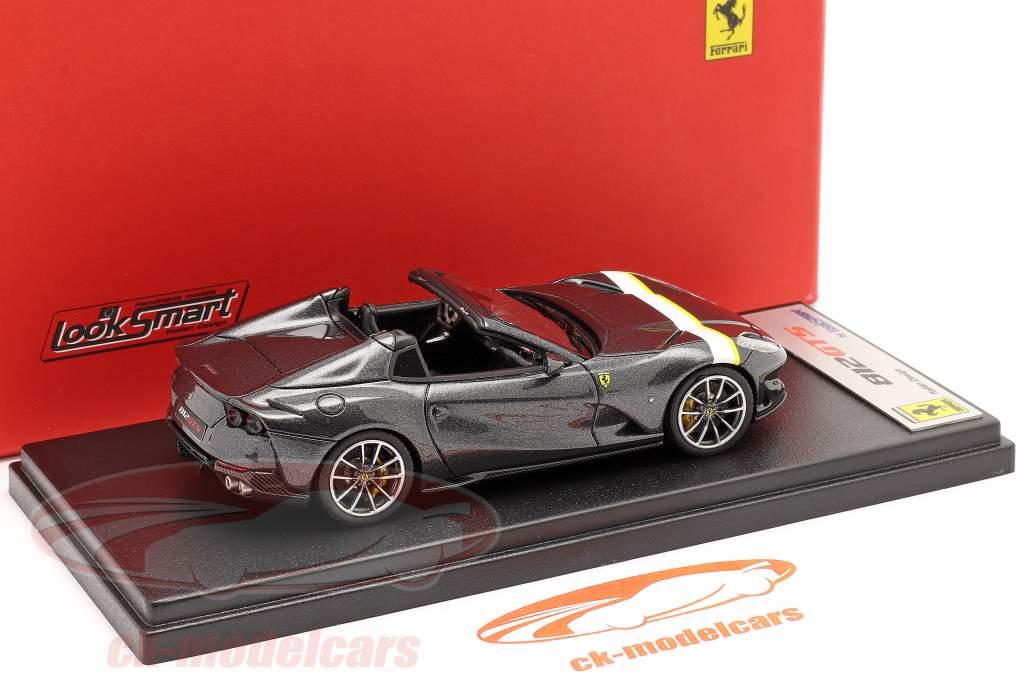 Ferrari 812 GTS Spider Anno di costruzione 2019 Silverstone Grigio 1:43 LookSmart