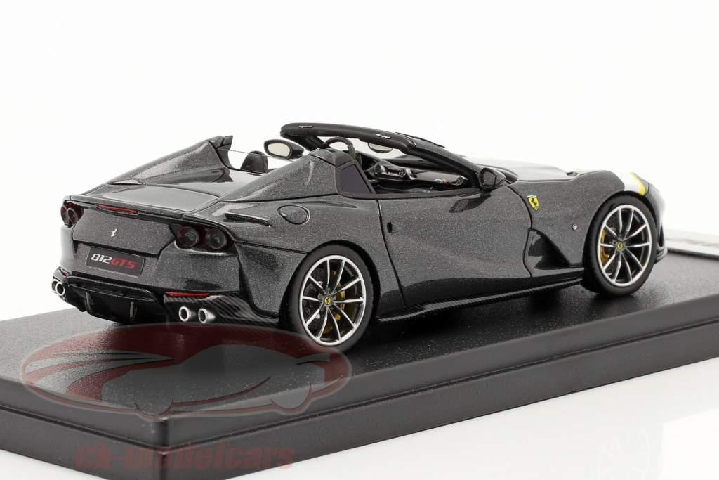 Ferrari 812 GTS Spider Année de construction 2019 Silverstone gris 1:43 LookSmart