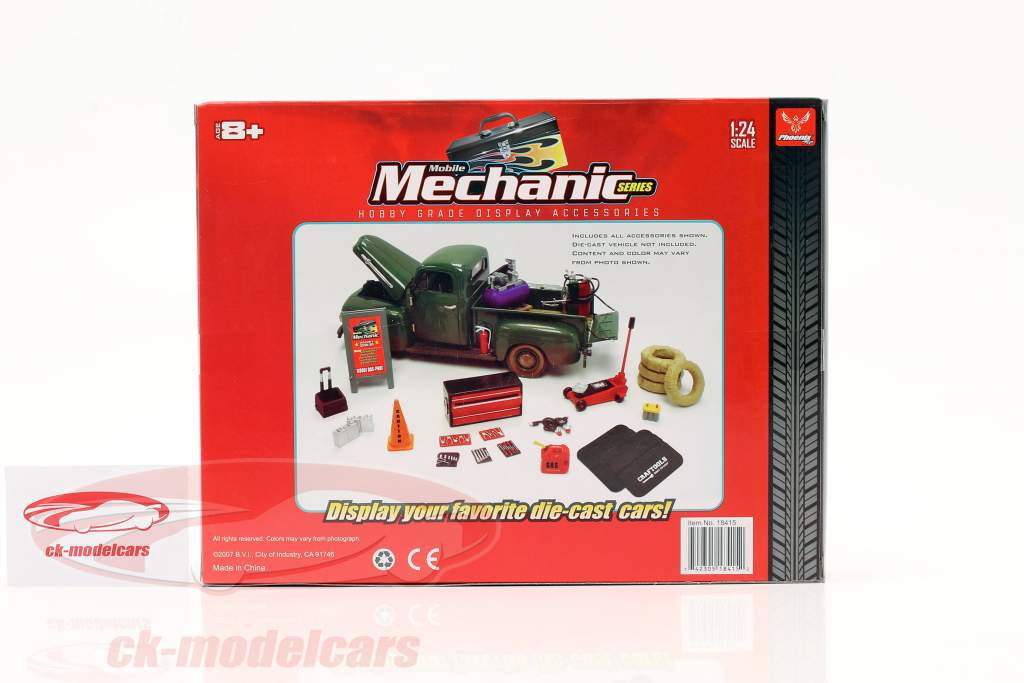 Ensemble de mécanicien mobile 1:24 Hobbygear