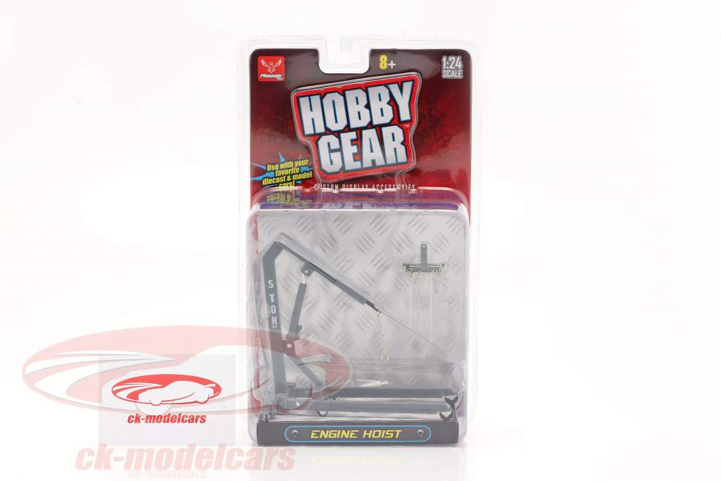 Engine Hoist grey 1:24 Hobbygear
