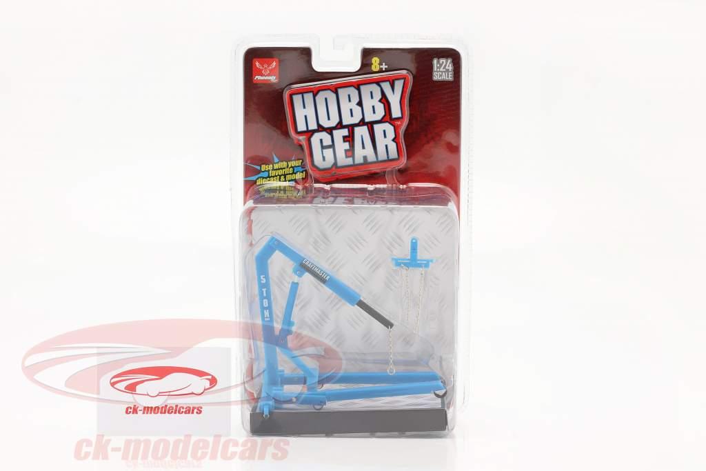 Engine Hoist blue 1:24 Hobbygear