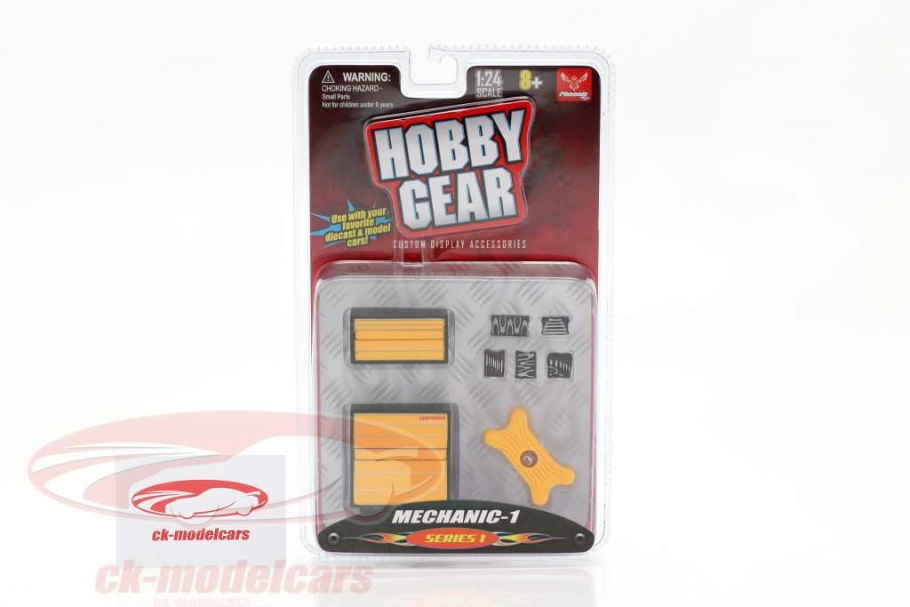 mecánico Set #1 1:24 Hobbygear