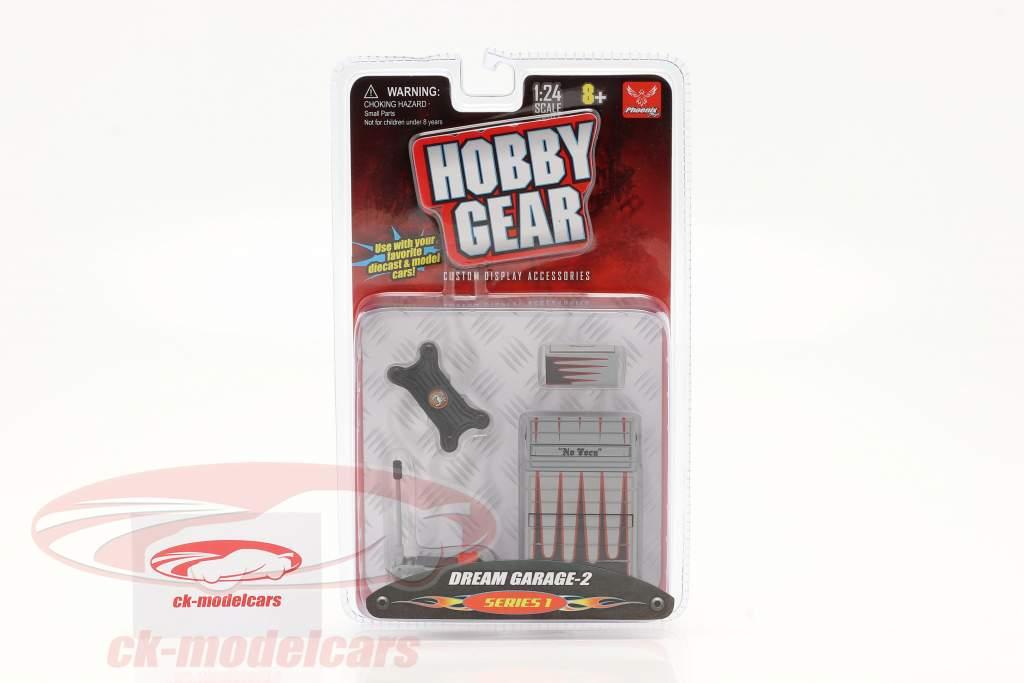 Dream Garage Set #2 1:24 Hobbygear