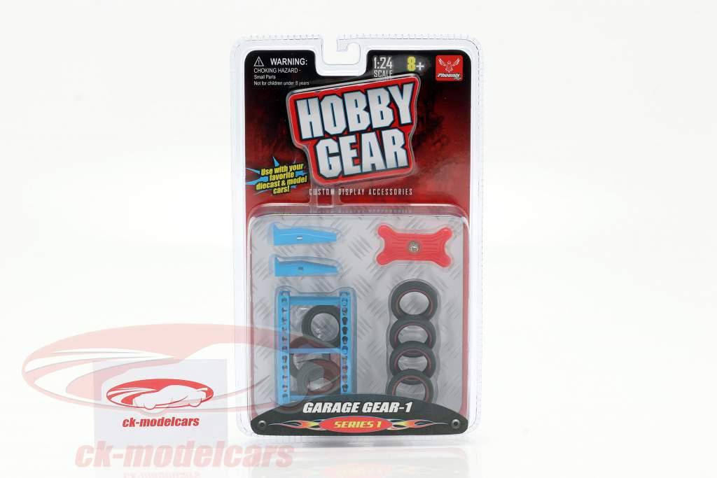 Garage Gear Set #1 1:24 Hobbygear