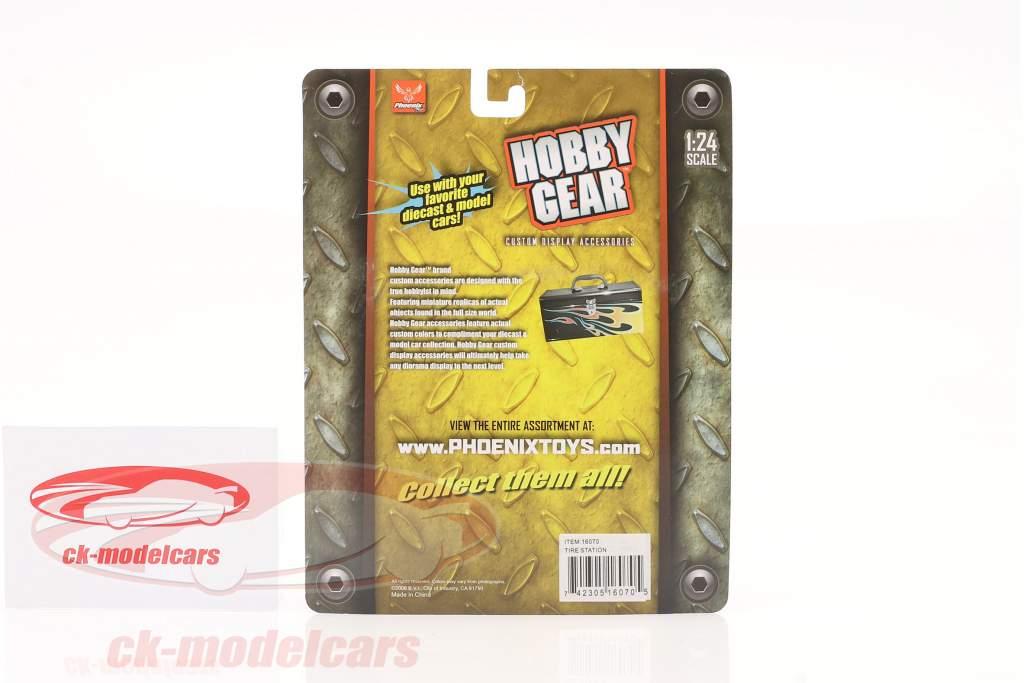 Neumático montaje estación 1:24 Hobbygear