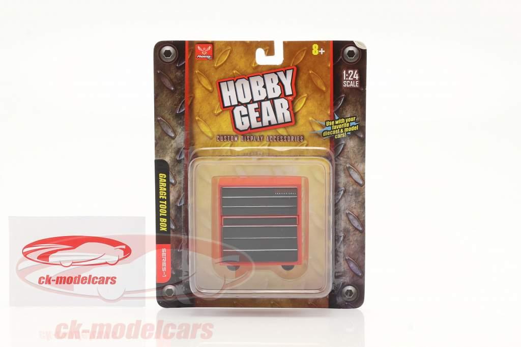 garagem Ferramenta caixa 1:24 Hobbygear