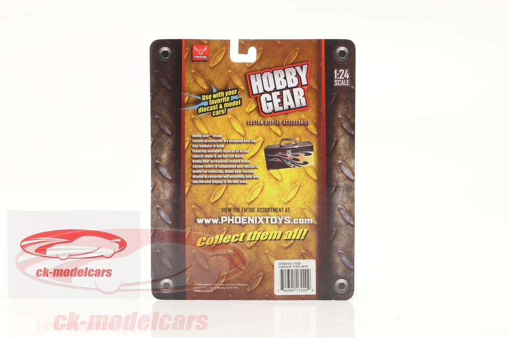 box auto Attrezzo scatola 1:24 Hobbygear