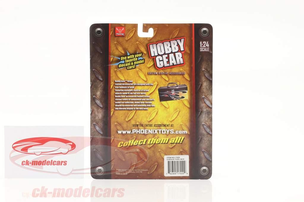 Garage Tool box 1:24 Hobbygear