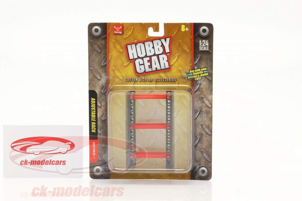 Adjustable Shelf Rack 1:24 Hobbygear