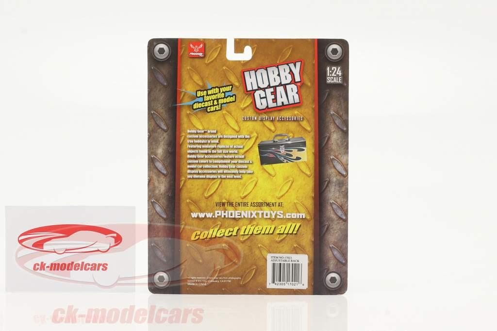 Verstellbarers Regalgestell 1:24 Hobbygear
