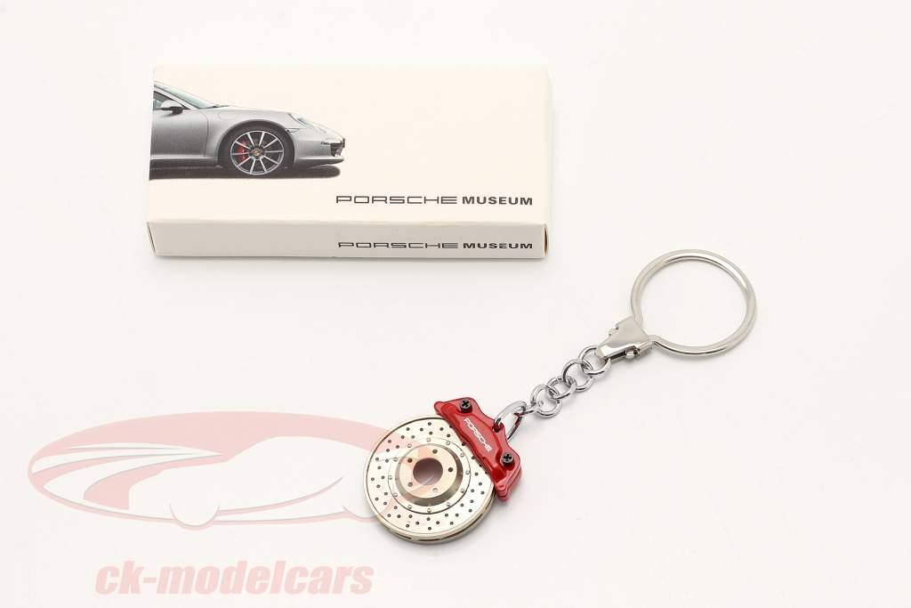 Porsche Schlüsselanhänger Bremsscheibe rot AUTOart