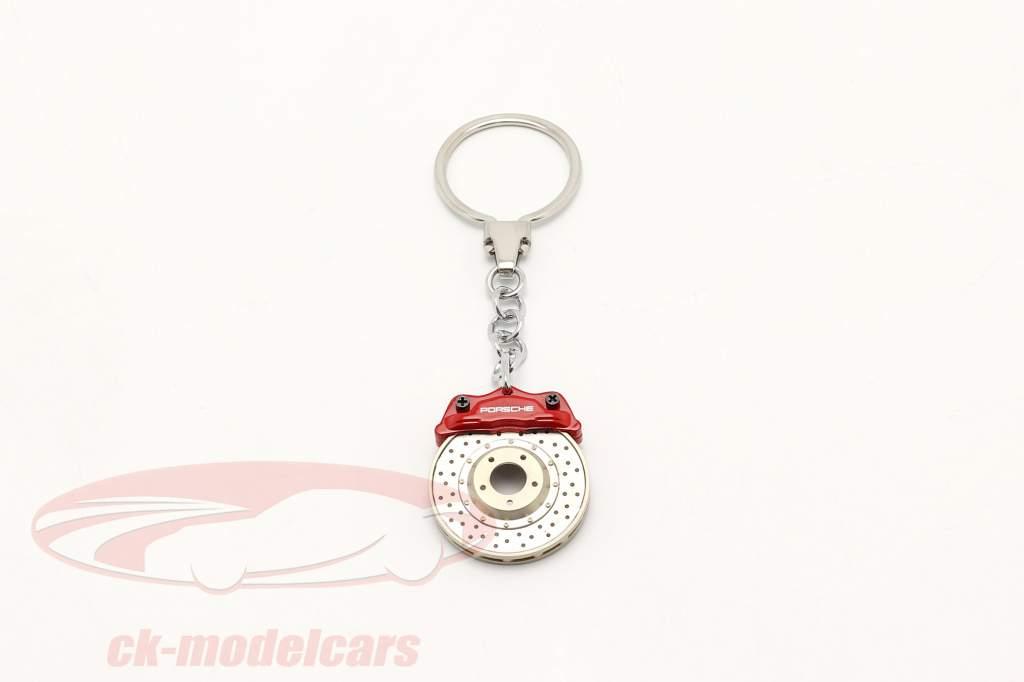 Porsche Porte-clés Disque de frein rouge AUTOart