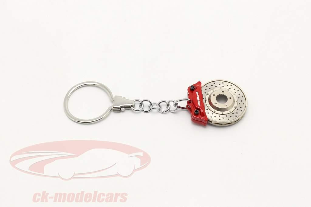 Porsche Sleutelhanger Remschijf rood AUTOart