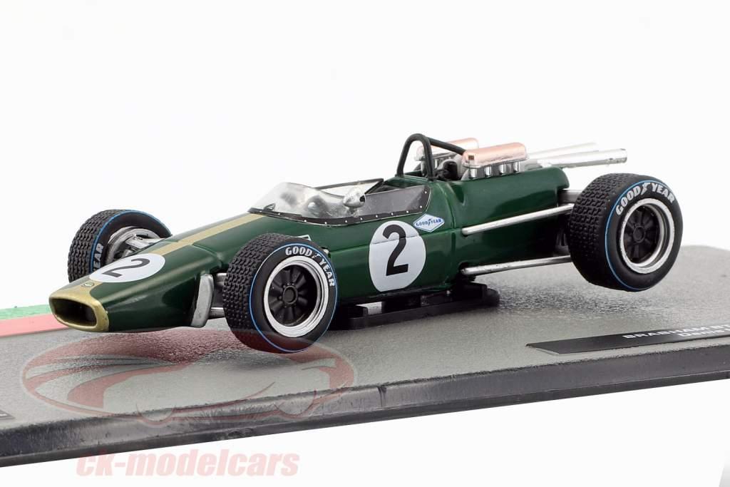 Denis Hulme Brabham BT24 #2 formule 1 Wereldkampioen 1967 1:43 Altaya