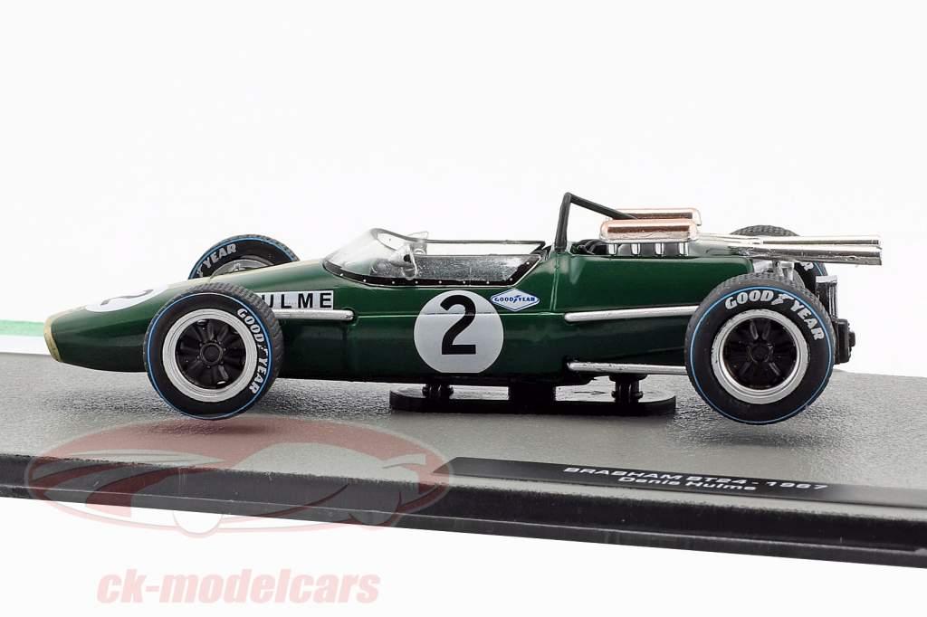 Denis Hulme Brabham BT24 #2 fórmula 1 Campeón mundial 1967 1:43 Altaya