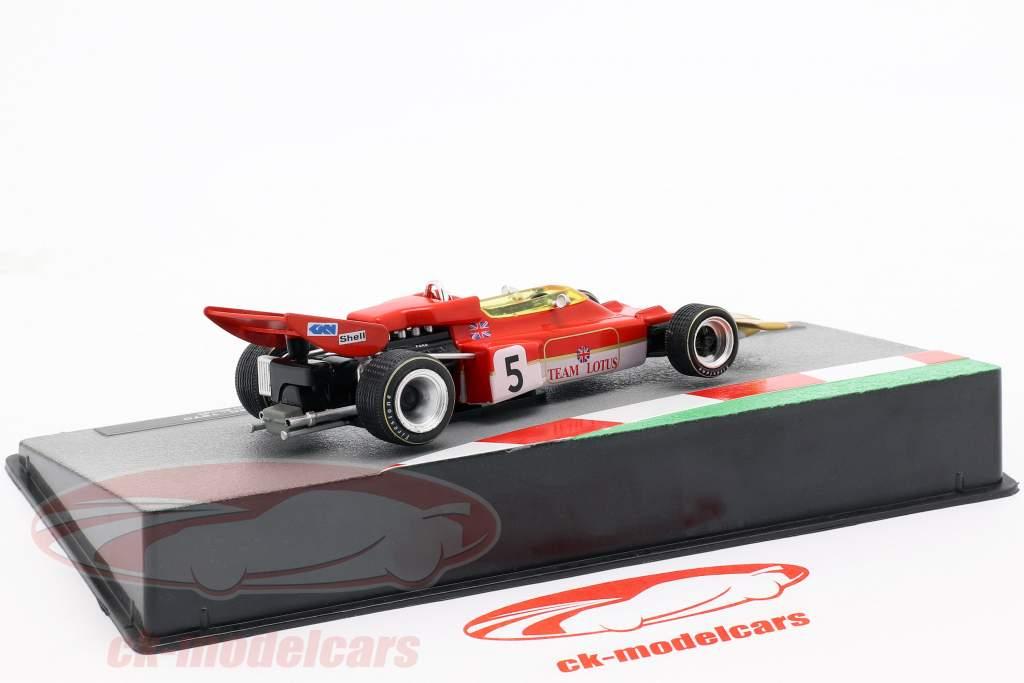Jochen Rindt Lotus 72C #5 formule 1 Champion du monde 1970 1:43 Altaya