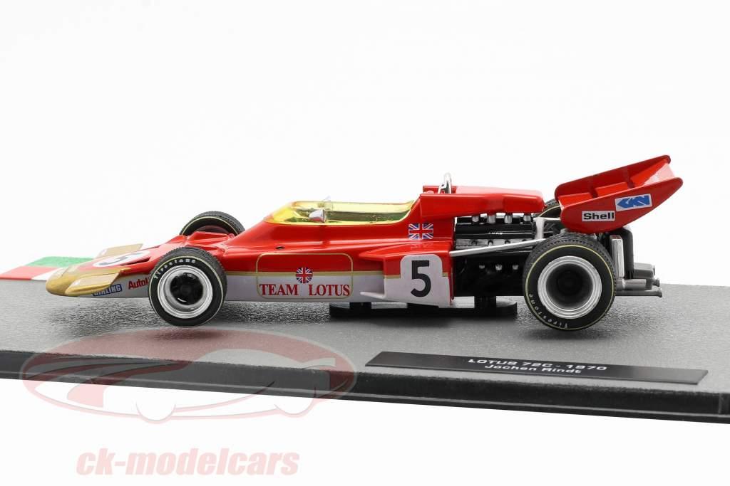 Jochen Rindt Lotus 72C #5 Formel 1 Weltmeister 1970 1:43 Altaya