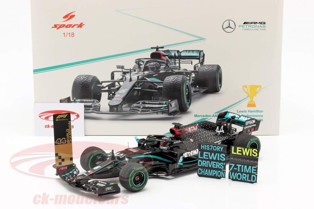 L. Hamilton Mercedes-AMG F1 W11 #44 Weltmeister Türkei GP F1 2020 1:18 Spark