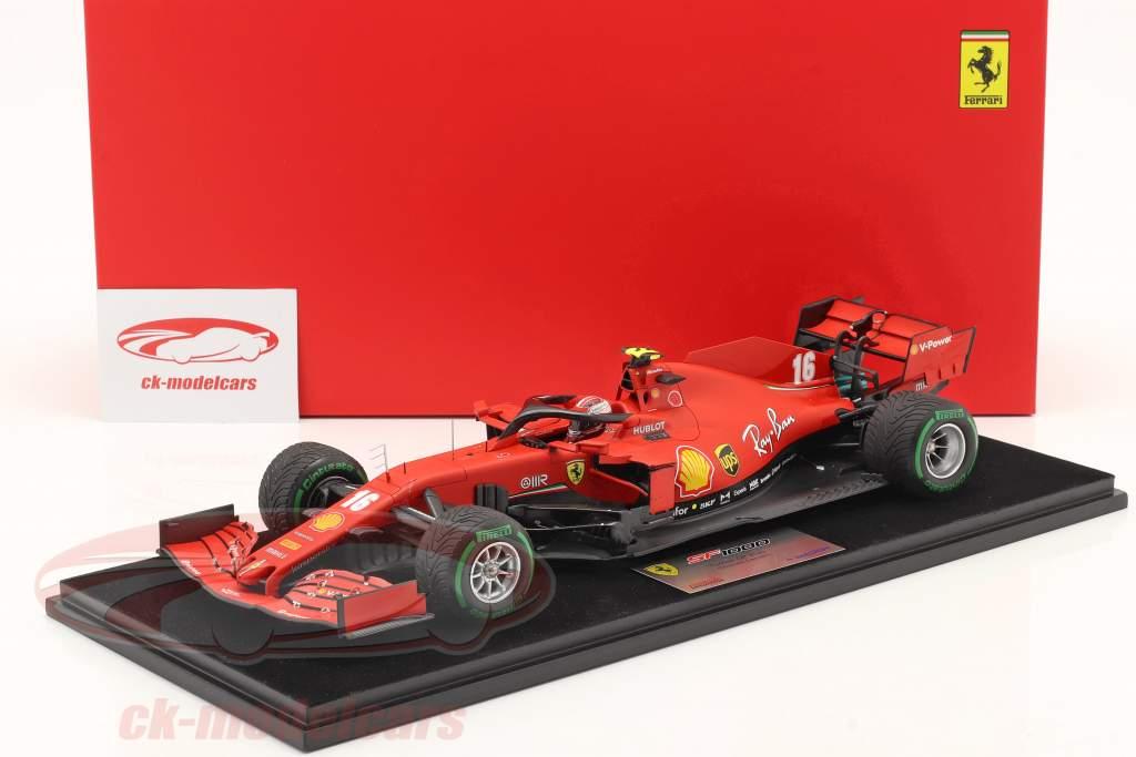 Charles Leclerc Ferrari SF1000 #16 Türkei GP Formel 1 2020 1:18 LookSmart