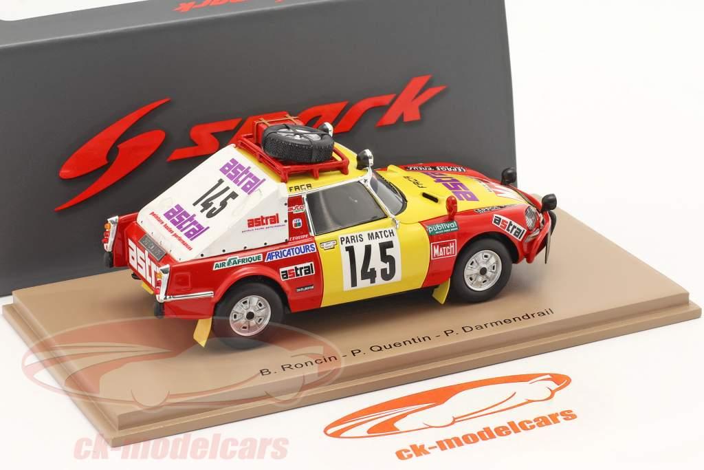 Citroën DS23 #145 Rallye Paris - Dakar 1981 Roncin, Quenti, Darmendrail 1:43 Spark