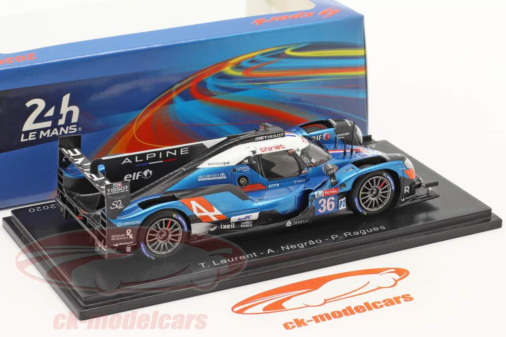Alpine A470 #36 8th 24h LeMans 2020 Signatech Alpine Elf 1:43 Spark