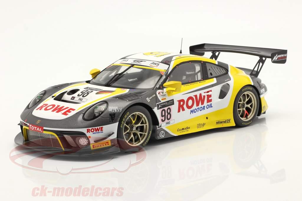 Porsche 911 GT3 R #98 Gagnant 24h Spa 2020 Bamber, Tandy, Vanthoor 1:18 Spark