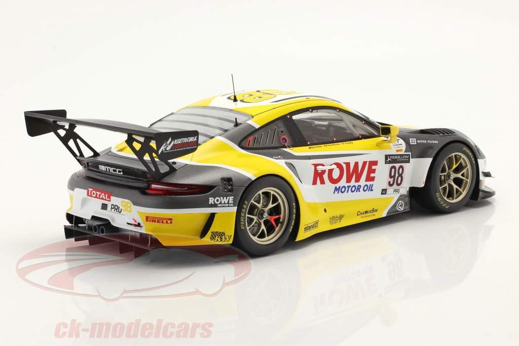 Porsche 911 GT3 R #98 Ganador 24h Spa 2020 Bamber, Tandy, Vanthoor 1:18 Spark
