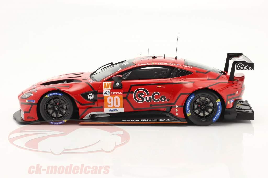 Aston Martin Vantage AMR #90 24h LeMans 2020 Adam, Eastwood, Yoluc 1:18 Spark