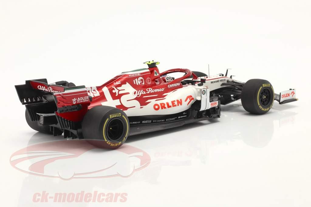 Antonio Giovinazzi Alfa Romeo Racing C39 #99 kalkoen GP formule 1 2020 1:18 Spark