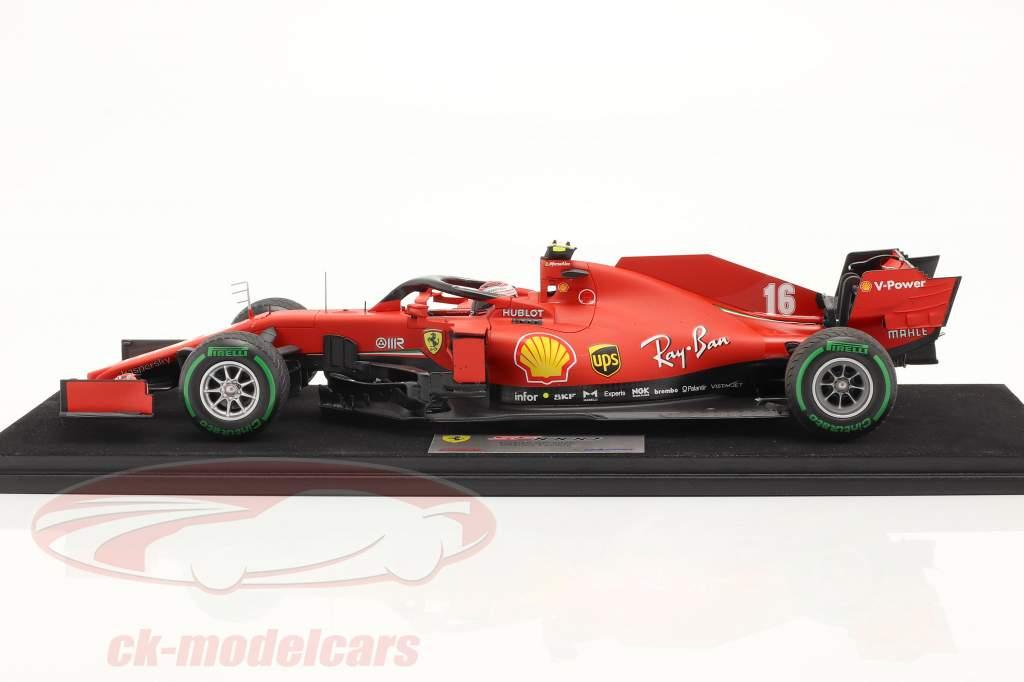 Charles Leclerc Ferrari SF1000 #16 七面鳥 GP 式 1 2020 1:18 LookSmart
