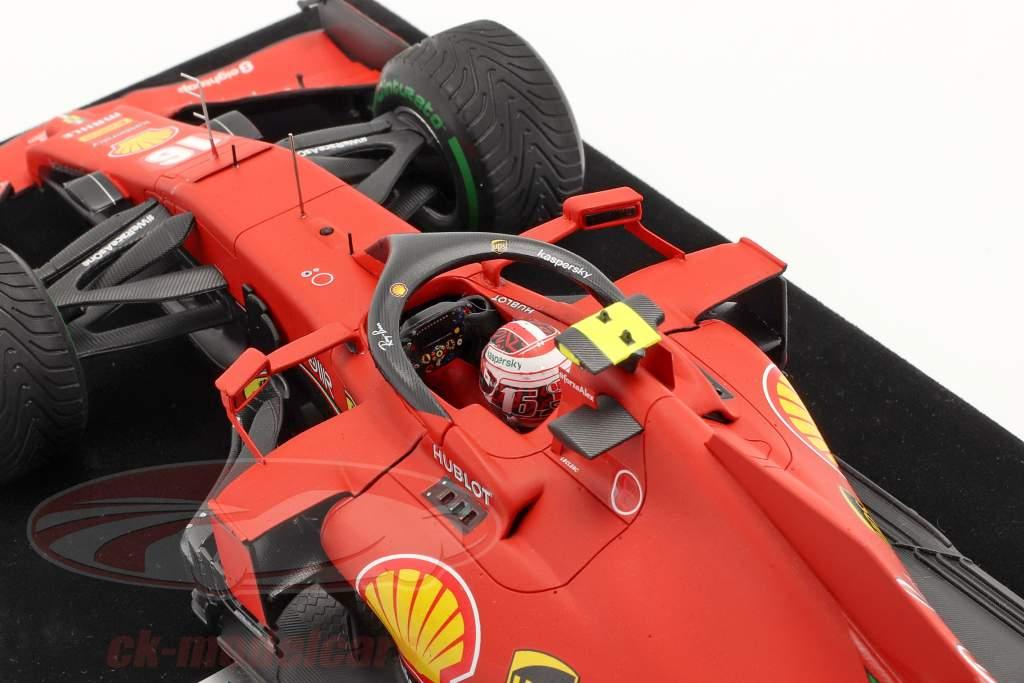 Charles Leclerc Ferrari SF1000 #16 kalkoen GP formule 1 2020 1:18 LookSmart
