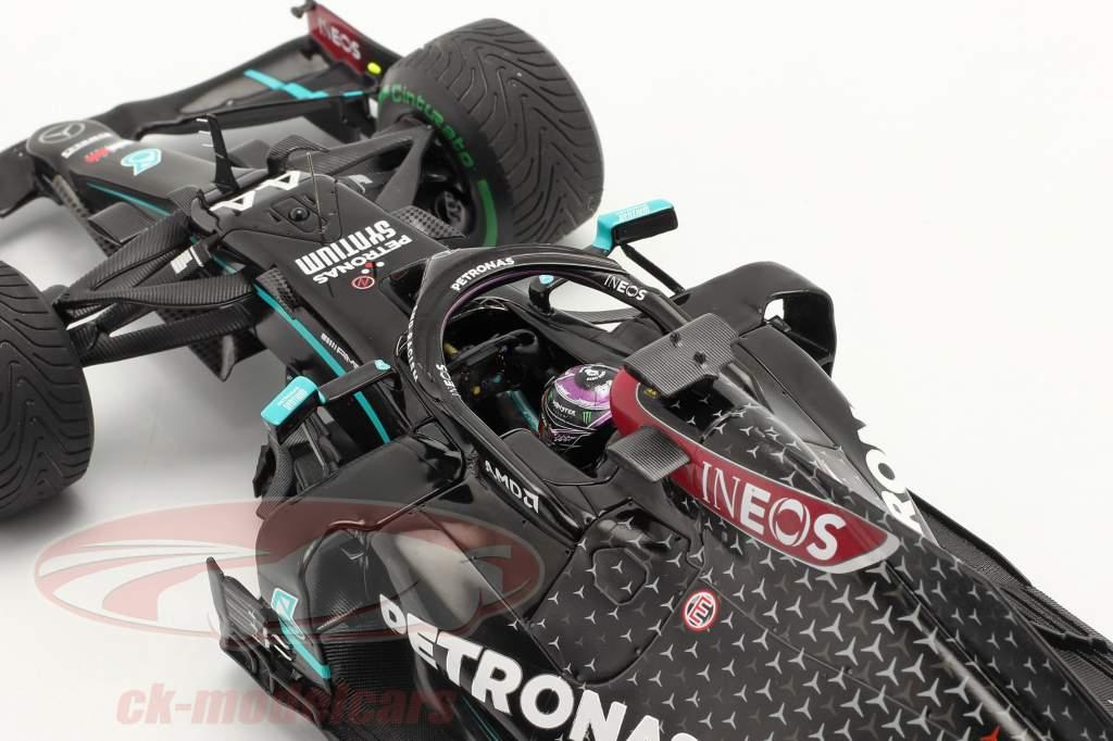 L. Hamilton Mercedes-AMG F1 W11 #44 世界冠军 火鸡 GP F1 2020 1:18 Spark