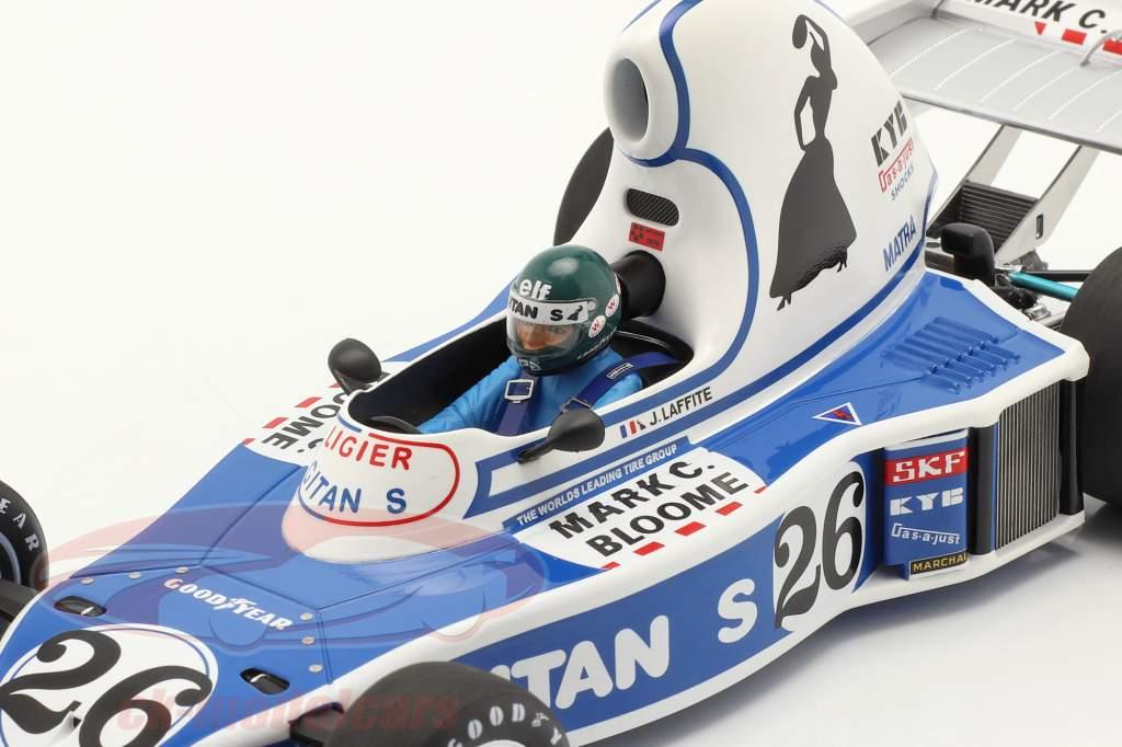 Jacques Laffite Ligier JS5 #26 4. plads Long Beach GP formel 1 1976 1:18 Spark