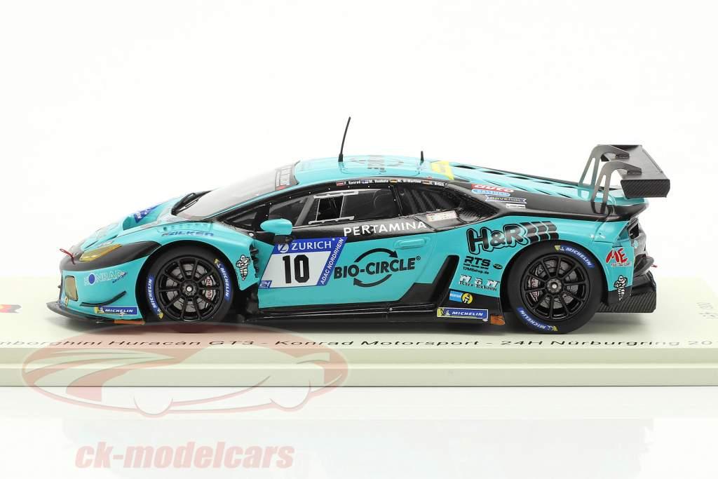 Lamborghini Huracan GT3 #10 24h Nürburgring 2018 Konrad Motorsport 1:43 Spark