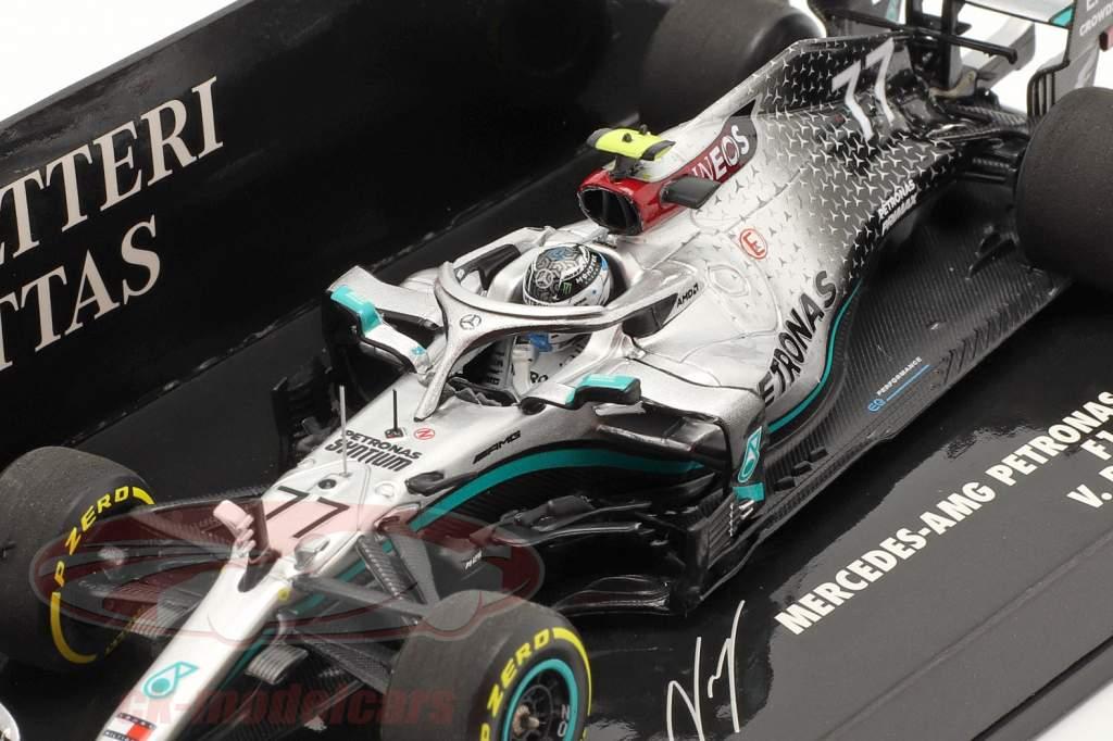 V. Bottas Mercedes-AMG F1 W11 #77 Launch Spec formule 1 2020 1:43 Minichamps