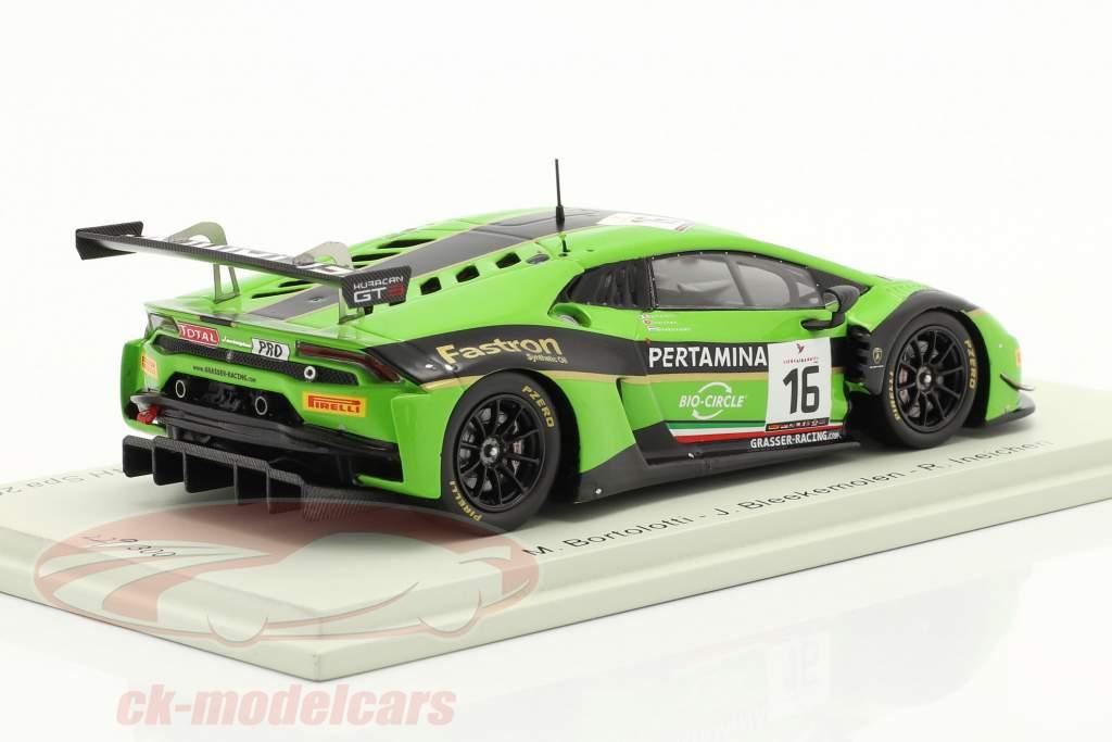 Lamborghini Huracan GT3 #16 24h Spa 2016 Grasser Racing Team 1:43 Spark