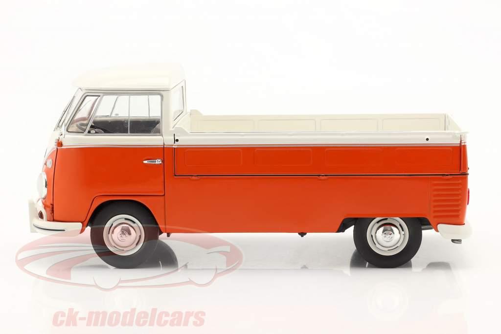 Volkswagen VW T1 Pick-Up 1950 arancia / bianca 1:18 Solido