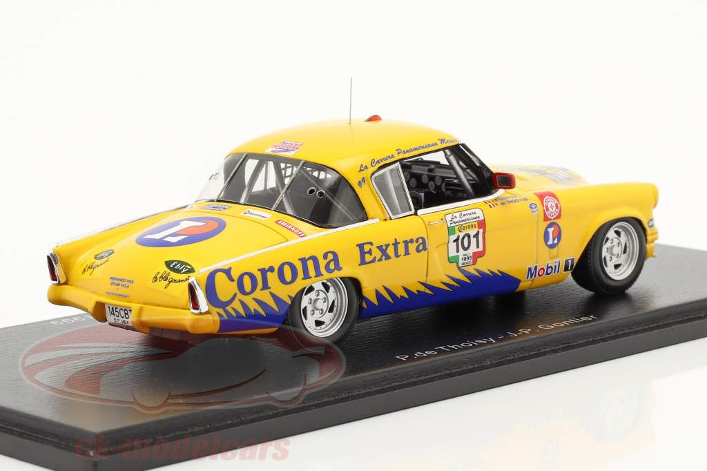 Studebaker Commander Corona #101 ganador Carrera Panamericana 1999 1:43 Spark