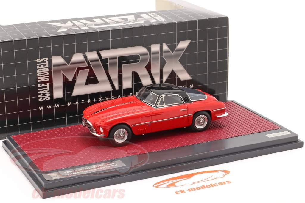 Ferrari 250 Europa Coupe Vignale 1954 rot / schwarz 1:43 Matrix