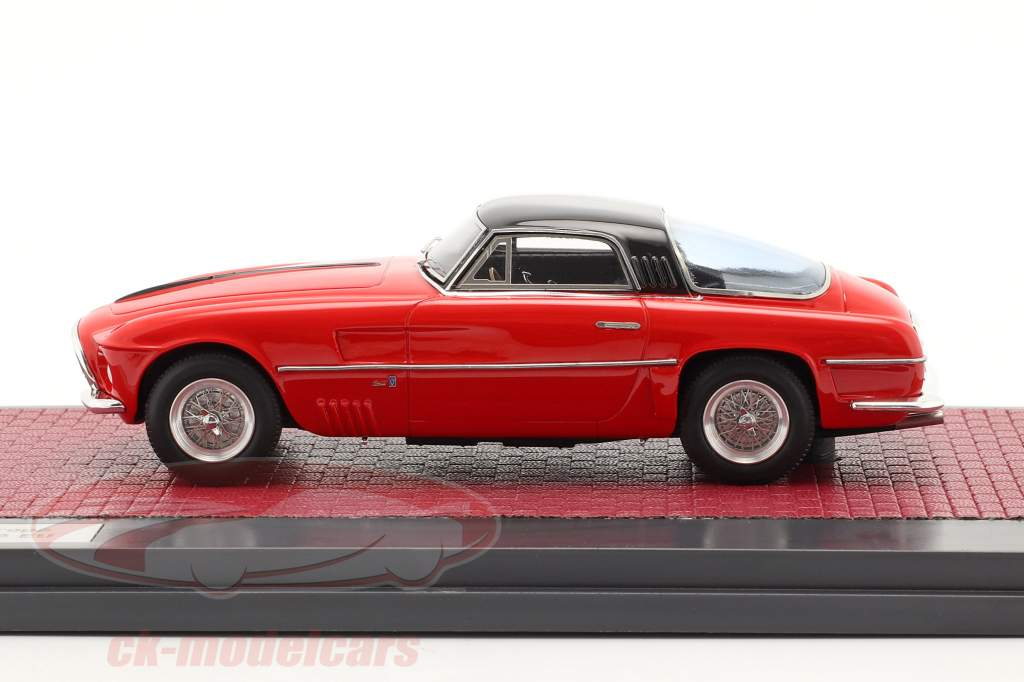 Ferrari 250 Europa Coupe Vignale 1954 rojo / negro 1:43 Matrix