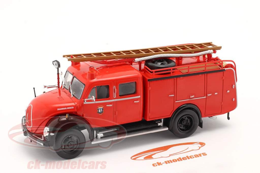 Magirus Deutz Mercur TLF 16 pompiers Madrid rouge 1:43 Altaya
